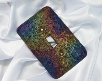 Polymer Clay Switch Plate