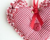 Valentine's Gift - Heart Door Hanger - Decorative Heart - Valentine Home Decor - Hanging Heart - Valentine Gift For Her - Valentine's Day