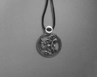 Virgo zodiac sterling silver 925 charm pendant necklace horoscope zodiaque pendants