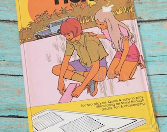 1974 HEX Paper Games Travel & Leisure Teens to Adults - Travel games
