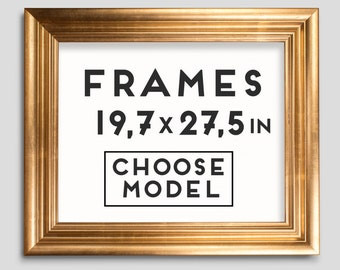 frames for prints 9 models choose your frame size 197 x 275 inches 50 x 70 cm