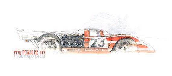 Porsche 917 Print