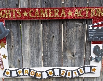 Movie Theme or any theme you want Party Photo Prop Frame