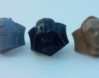 Star Wars Cupcake Rings 12 pack
