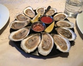 Oyster Serving Tray