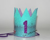 Mermaid 1st Birthday Crown // READY TO SHIP // by Born TuTu Rock
