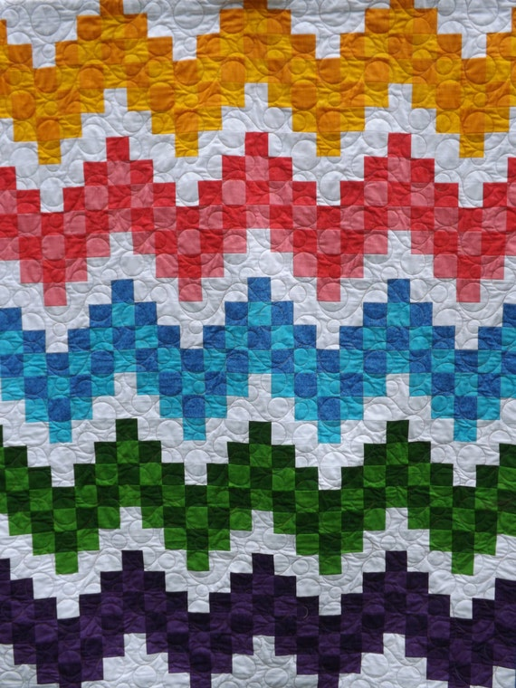 Check It Out Quilt Pattern ~ Paper