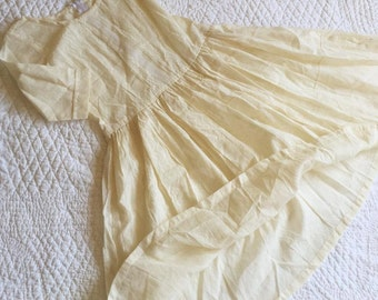 Dress from organic materials - 50 silk and cotton 50