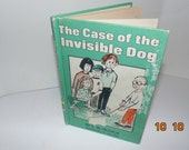 Vintage 1977 The case of the Invisible Dog Hardcover weekly Reader E.W. Hildick