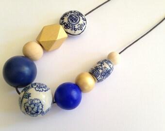 China Blue Beads