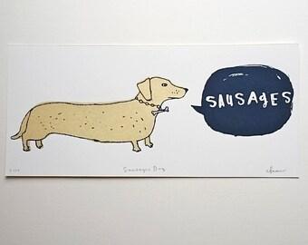 sausages dog