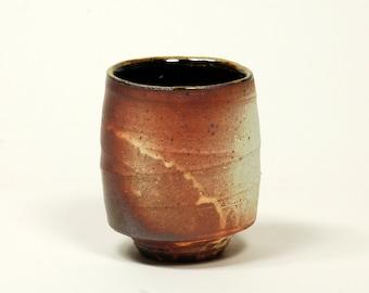 Salt fired cup (yunomi)