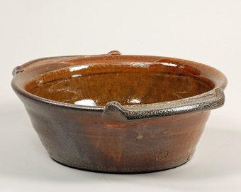 Round Salt Glazed Baking or Serving Dish