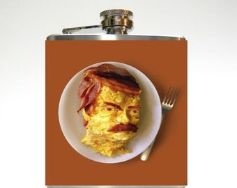 Bacon and Eggs : Flask
