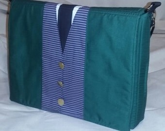 Haunted Mansion Inspired Butler Messenger Bag