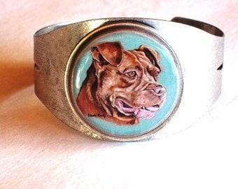 Pit Bull original wearable art bracelet