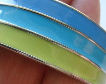 Nice Enamel Band Bracelet