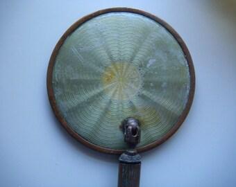 Vintage Lotion Jar and Mirror
