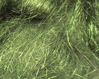Angelina Fiber-Spinning Fiber-Sparkle Fiber-Sparkle-Moss Green