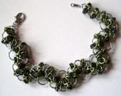Celtic Spikes Lace Bracelet