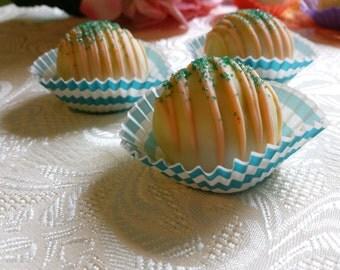 Cake Ball Truffles Pumpkin Cake Balls 12 per Platter Decorated Fall Thanksgiving dessert table