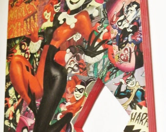 Harley Quinn Wall Plaque (made to order)
