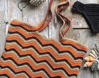 Crochet Tote Bag.