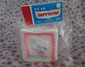 Edward Mobley, Arrow Rubber and Plastics, Animal Cube, in original packaging, squeak toy