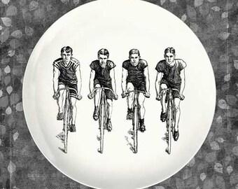 bikers melamine plate
