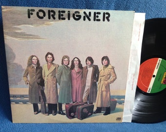 """Vintage, Foreigner - """"S/T Debut"""", Vinyl LP, Record Album, Original 1977 Press, Classic Rock, Cold As Ice, Feels Like The First Time"""