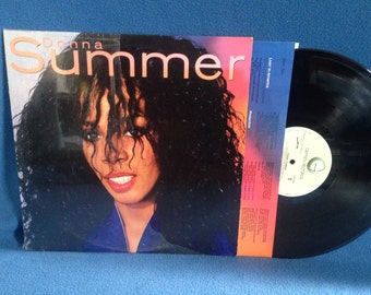 "Vintage, Donna Summer - ""S/t Same"", Vinyl LP, Record Album, Original 1982 First Press, Love Is In Control, State Of Independence, Funk, Soul"
