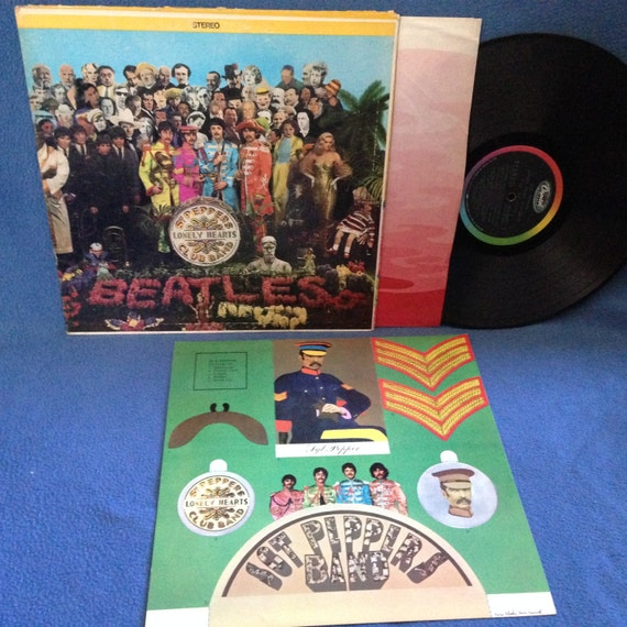 Rare Vintage The Beatles Sgt Peppers Lonely Hearts