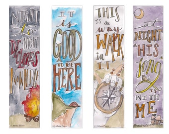 Adventure theme Bible Bookmark / Bible Journal Tag **INSTANT DOWNLOAD**