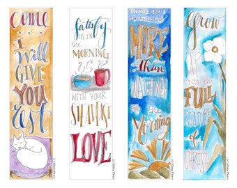 Gifts set Bible Bookmark / Bible Journal Tag **INSTANT DOWNLOAD**