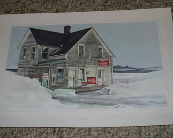 5 Vintage Prints - Canadian Scenes