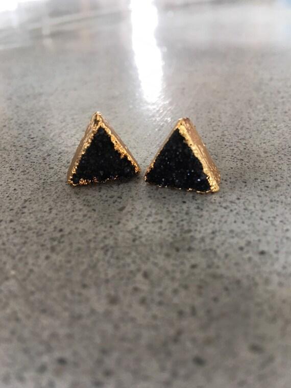Druzy Earrings, Boho Jewelry