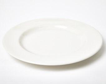 Syracuse China White Plate