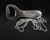 Cool Vintage 1950s Rheingold Extra Dry Beer bottle opener necklace - New York