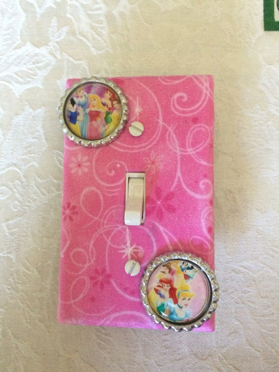 Princess Light Switch Cover Princess Bedroom Decor Pink
