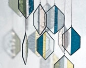 Stained Glass Elements: Striped Hex