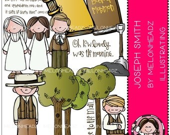 Joseph Smith clip art