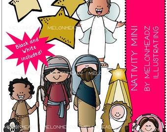 Nativity clip art - Combo Pack