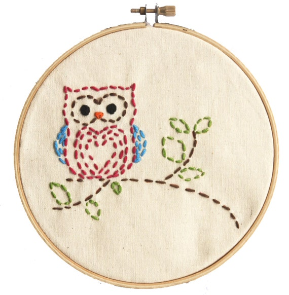 Easy embroidery kit for beginners sewing project little