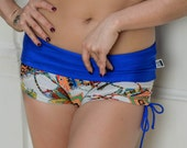 Shorts Indians with blue for Bikram yoga