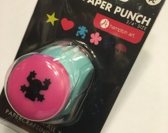 Frog paper punch, 15 mm (BB2)