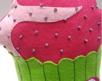 Zombie pillow, decorative pillow, throw pillow, plushie, beaded pillow, handmade pillows, felt pillow, halloween pillow, horror pillow