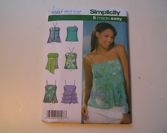 Simplicity Pattern 4587 Miss Top