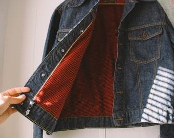 Vintage Roebuck Lined Denim Jacket