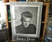 Vintage James Dean Phil Stein Photograph Poster 1986