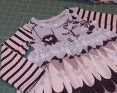Baby Dress Christmas dress baby girl dress - winter christmas dress - size 2T - in stock